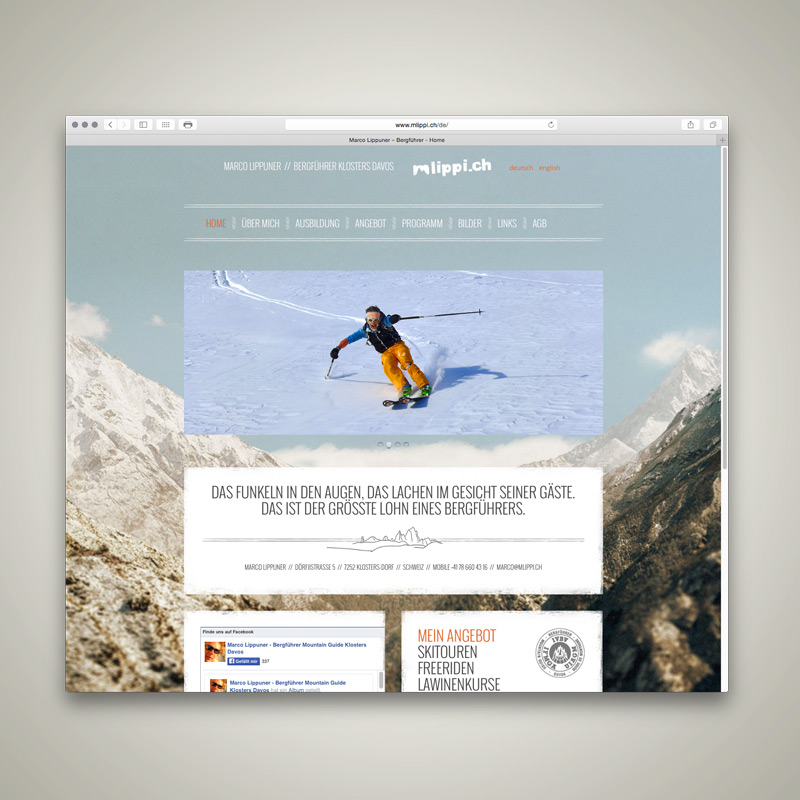 WEBSITE, Marco Lippuner